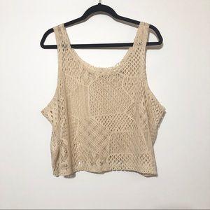 Gypsy Junkies Crochet Boho Tank